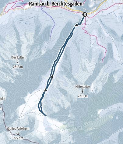 Karte / Wimbachtal
