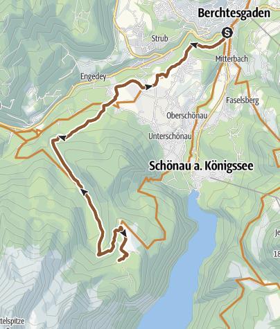 Karte / MTB: 07 - Kühroint über Schönau