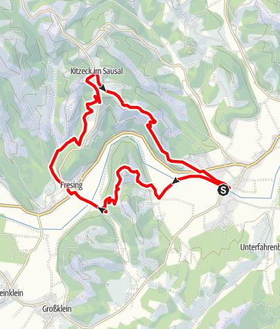 Karte / Panoramagalerie Sulmtal Sausal - Kunst und Wein