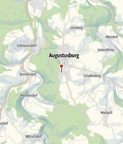 Karte / Hotel & Cafe Friedrich