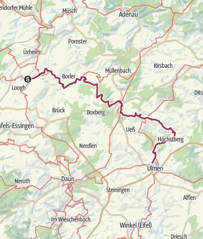 Karte / Vulkaneifel-Pfad: Hochkelberg Panorama-Pfad