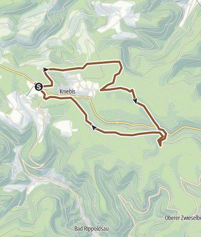 Karte / Freudenstadt-Kniebis: Kniebis Tour