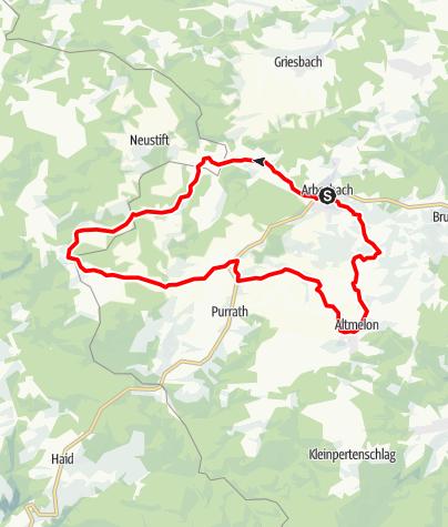 Karte / Bärenwald-Strecke