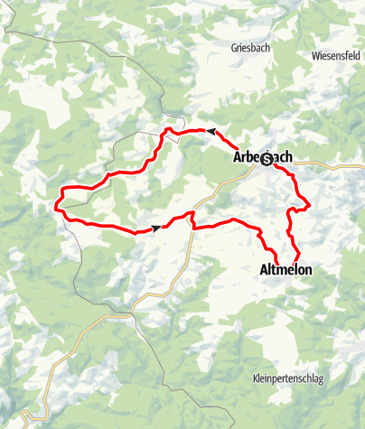 Mapa / Bärenwald-Strecke