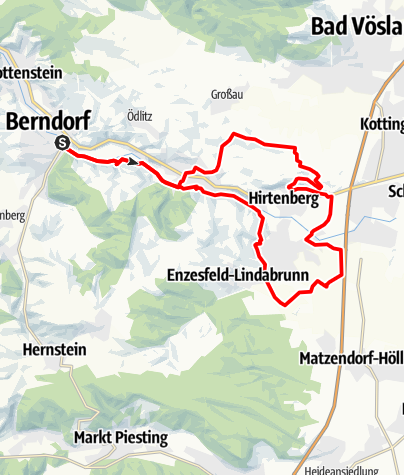 Karte / Pfarrkogel-Strecke