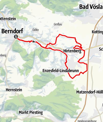 Mapa / Pfarrkogel-Strecke