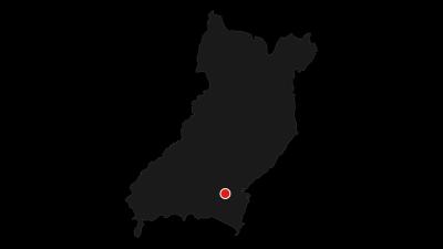 Karte / Die Festungen des Monte Brione