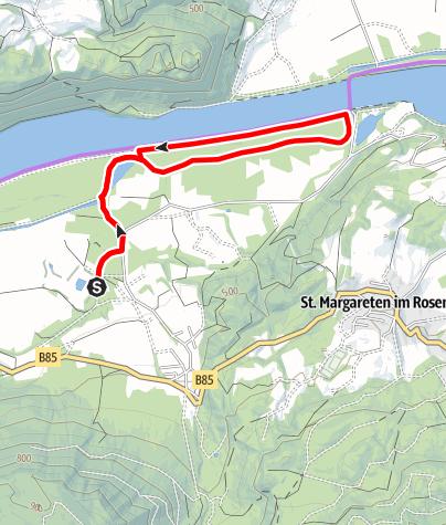 Karte / Familien Radwanderung