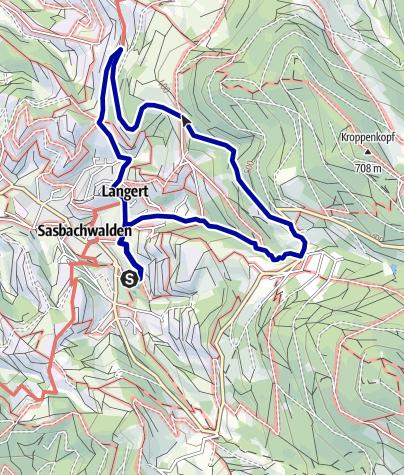 Karte / Heilklima-Wanderung 2