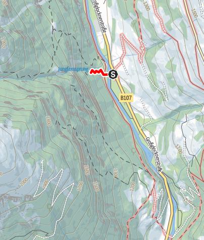 Karte / Wasser-Wunder-Weg Jungfernsprung
