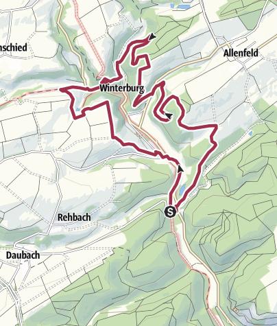 Kaart / Vitaltour Schlossweg