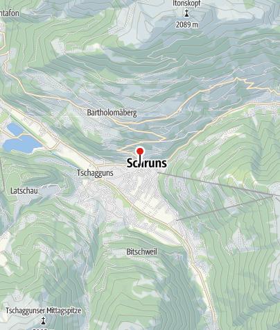 Kaart / Dorfhaus Schruns