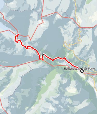 Karte / Von Heiligenblut zur Kaiser-Franz-Josefs-Höhe
