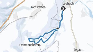 Karte / Große Lautracher Runde lange Variante über Ottmannshofen