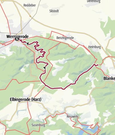Karte / Auf dem Weg der deutschen Kaiser und Könige