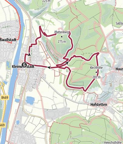 Karte / Am Weißen Leimen
