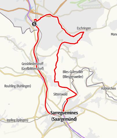 Map / Saargemünder Loop