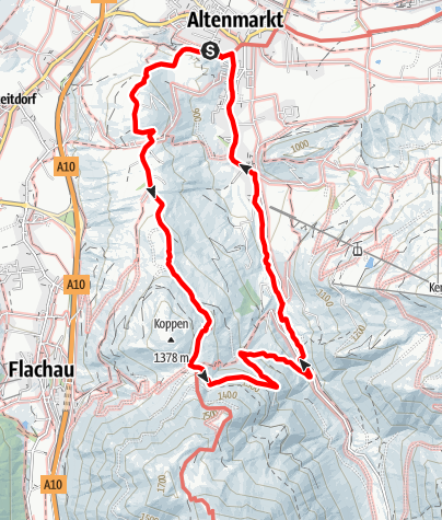 Karte / Feuersang-Rundweg