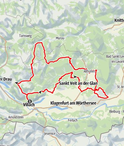 Karte / Mittelkärnten und Gurktaler Alpen