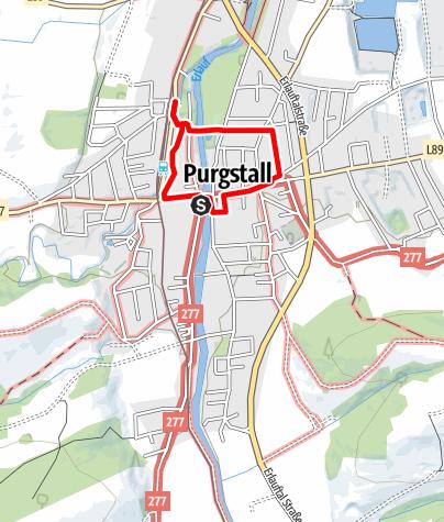 Mapa / Historischer Rundweg