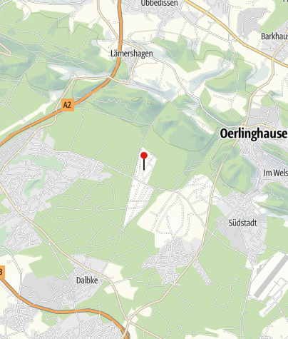 Kaart / Ferienhaus Bielefeld