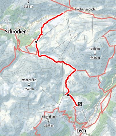 Karte / Tannberg