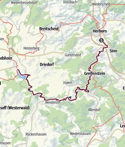 Map / Wäller Tour Greifenstein-Schleife