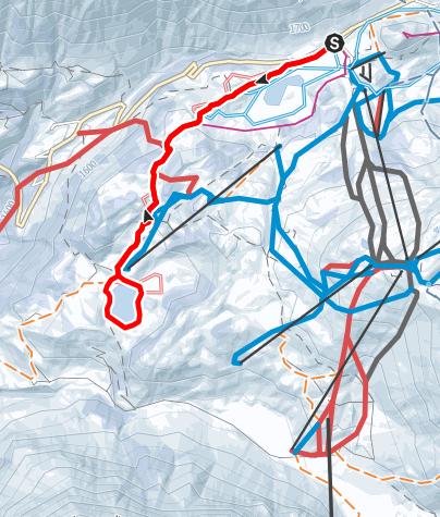 Karte / Vom Kalbelesee zum Körbersee