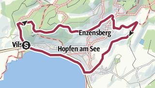 Karte / Hopferwaldrunde (Nordic Ho3)