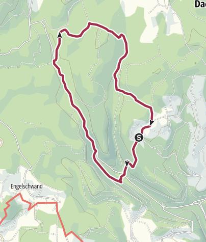 Karte / Dachsberg: Wanderung im Schwarzenbächletal