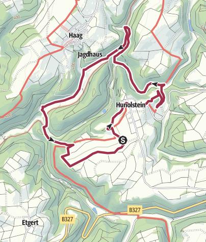 Map / Traumschleife Hunolsteiner Klammtour