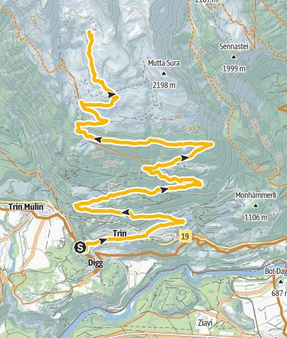 Kaart / 251 Alp Mora
