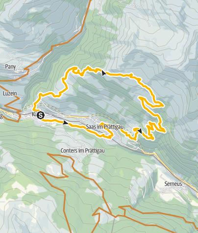 Karte / 327 Alp Meder