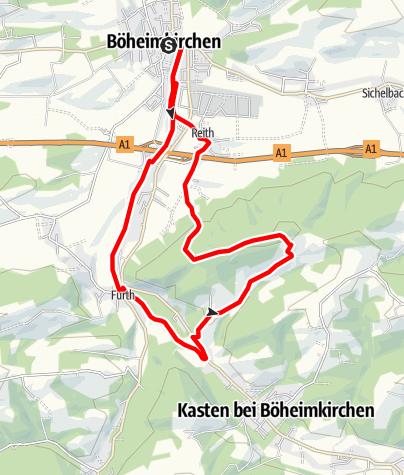 Map / Angerhofweg, Böheimkirchen