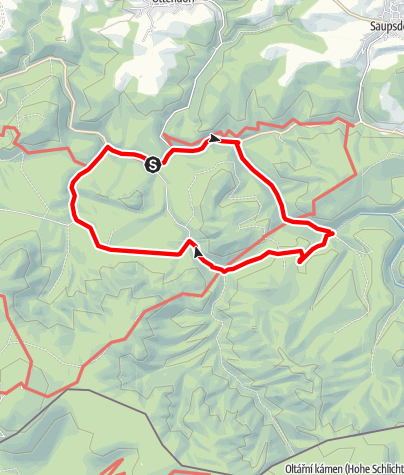 Karte / Hintere Sächsische Schweiz