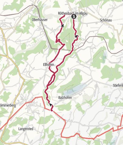 Karte / Auf den Spuren des Tobelbachs - Westallgäuer Wasserweg 14