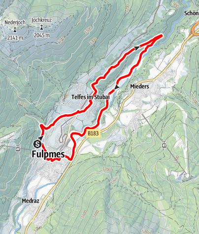Karte / Gallhof-Runde