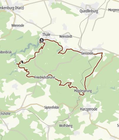 Karte / Über die Viktorshöhe