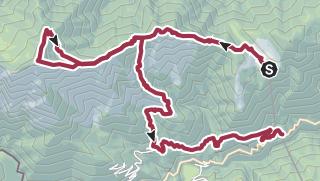 Map / Zum Pizzo Ruscada