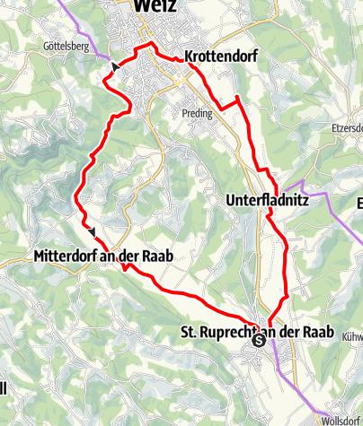Karte / Käferbohnentour für Familien