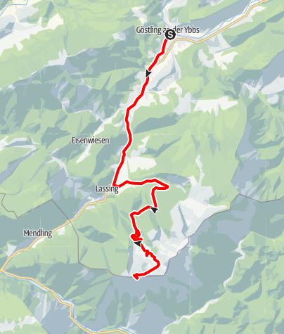 Mapa / Hochkar-Strecke