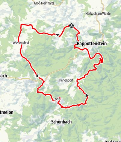 Karte / Höllmühl-Strecke