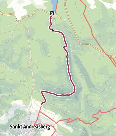 Karte / WasserWanderWeg Rehberger Graben