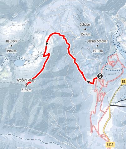 Karte / Großer Hengst, der weiße Riese