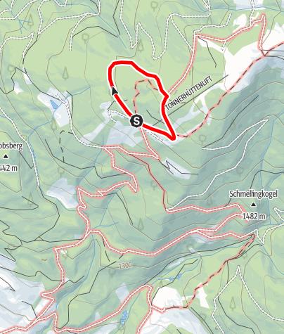 Map / Mühlen_Zirben Rundweg