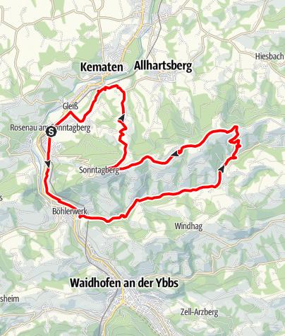 Karte / Basilika - Strecke