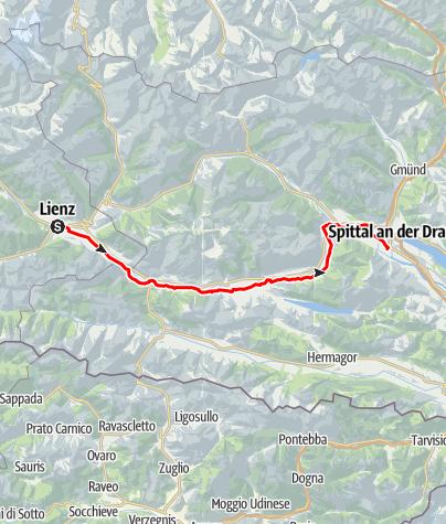 Map / Drauradweg