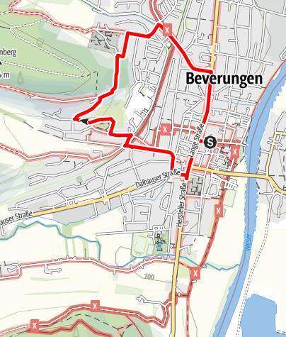 Karte / Stadtspaziergang zum Kapellenberg