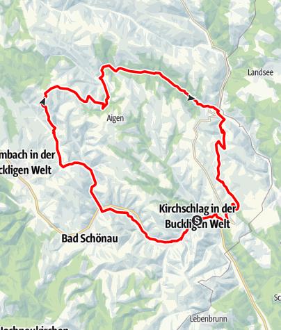 Karte / Puchheimer-Strecke