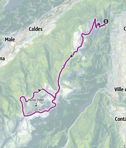 """Cartina / Sul tracciato della gara """"Rampipeller"""""""